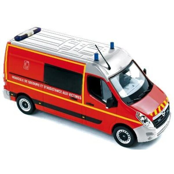 Opel Movano 2010 Firefighters 1:43