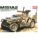 M151A2 Tow Missile Jeep Academy AC13406