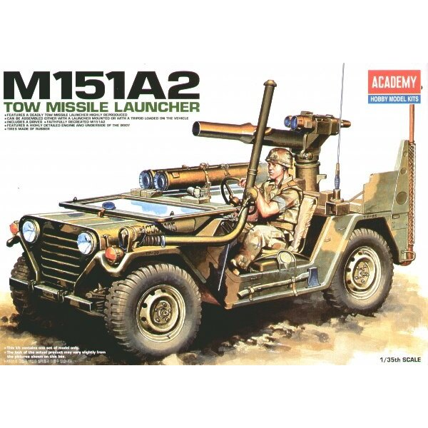 M151A2 Tow Missile Jeep
