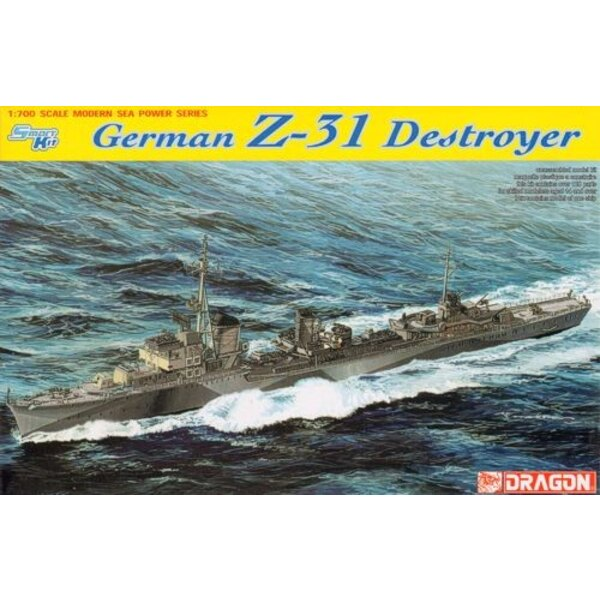 German Z31 destroyer