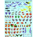 decals french air force badges as used between 1995 and 2010. can be used on following aircrafts and
