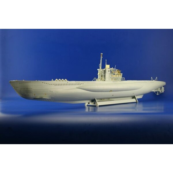 U-boat VIIC/41 (designed to be assembled with model kits from Revell)
