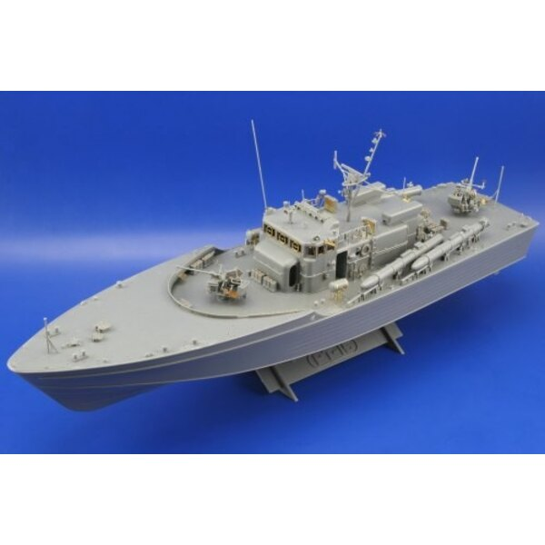 PT-15 Japan Torpedo boat (designed to be assembled with model kits from Tamiya)