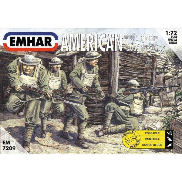 WWI American ′Doughboys′ Infantry
