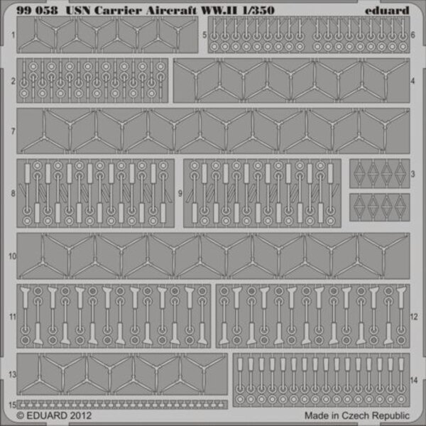 USN Aircraft accessories WWII 1/350