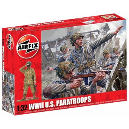 WWII U.S Paratroops