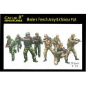 Modern French Army with Chinese PLA Caesar Miniatures CMH059