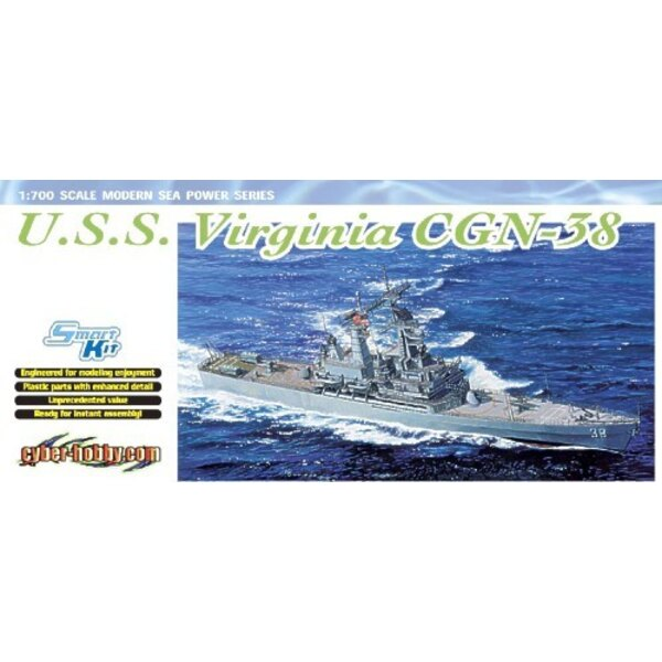 USS Virginia (CGN-38) Nuclear-powered Guided Missile Cruiser