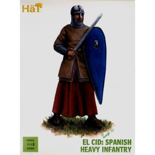 El Cid Spanish Heavy Artillery x 36 hard plastic figures