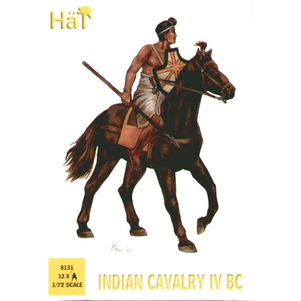 Indian Cavalry x 12 of King Porus/Alexander The Great wars