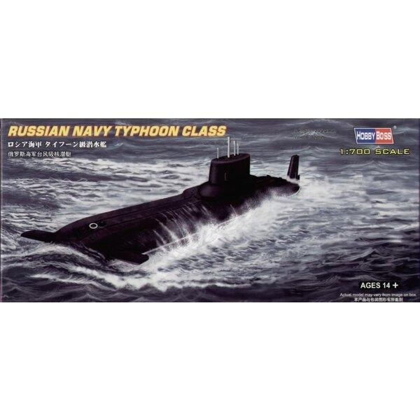 Russian Navy Typhoon Class Submarine