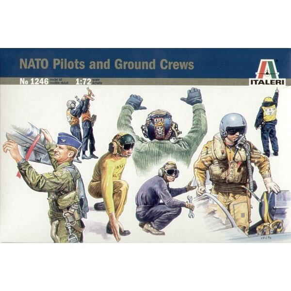 NATO Pilots and Ground crew