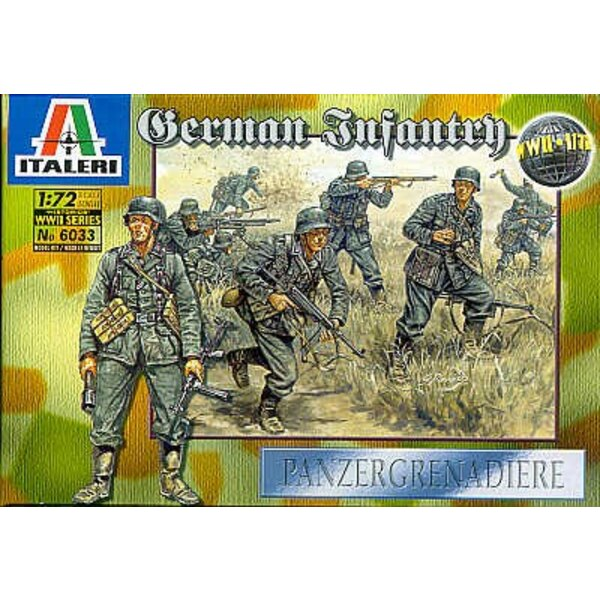 WWII German Infantry
