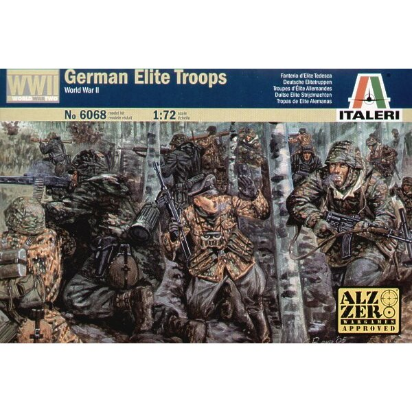 German Elite Troops WWII