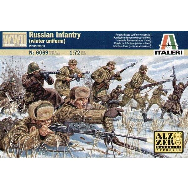 WWII Russian Infantry Winter Uniform