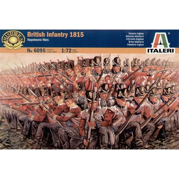 Napoleonic Wars British Infantry 1815