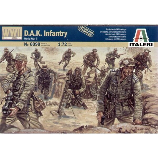 WWII D.A.K. Infantry North Africa