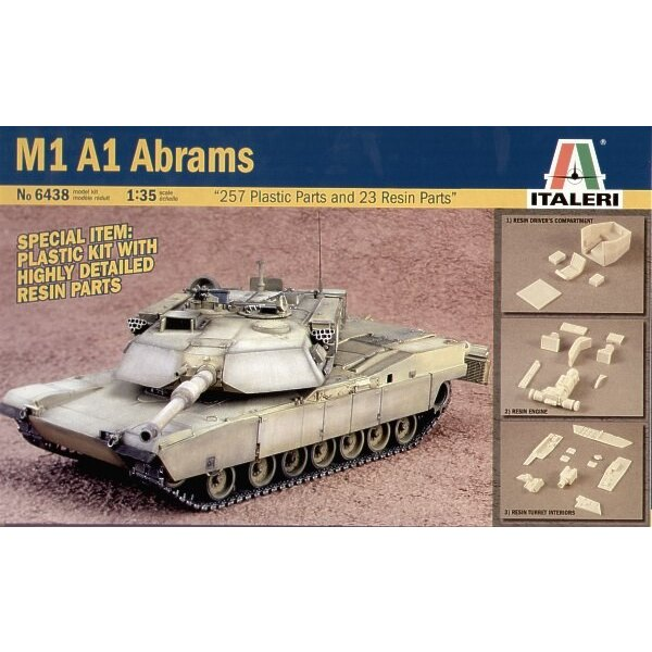 M1A1 Abrams with Resin parts