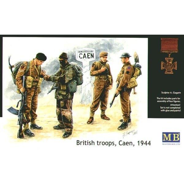 British troops Caen 1944