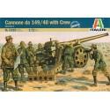 Cannone da 149/40 with Crew Italeri IT6165