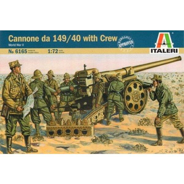 Cannone da 149/40 with Crew