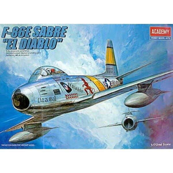 North American F-86E Sabre El Diablo
