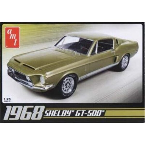 Shelby GT 500 1968 1:25