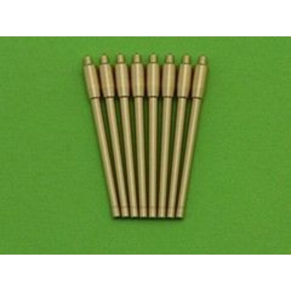 France 380 mm/45 (14.96in) Model 1935 barrels - for turrets without blastbags (8pcs) - Richelieu, Gascogne and Alsace classes (d