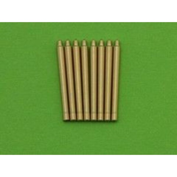 France 380 mm/45 (14.96in) Model 1935 barrels - for turrets with blastbags (8pcs) - Richelieu, Gascogne and Alsace classes (desi