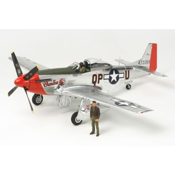 North-American P-51D Mustang Metal Plate LTD Edition
