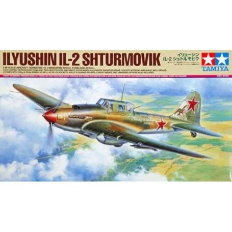 """/""""Ilyushin Il-2 Sturmovik/"""" 1//48 Tamiya 61113"""