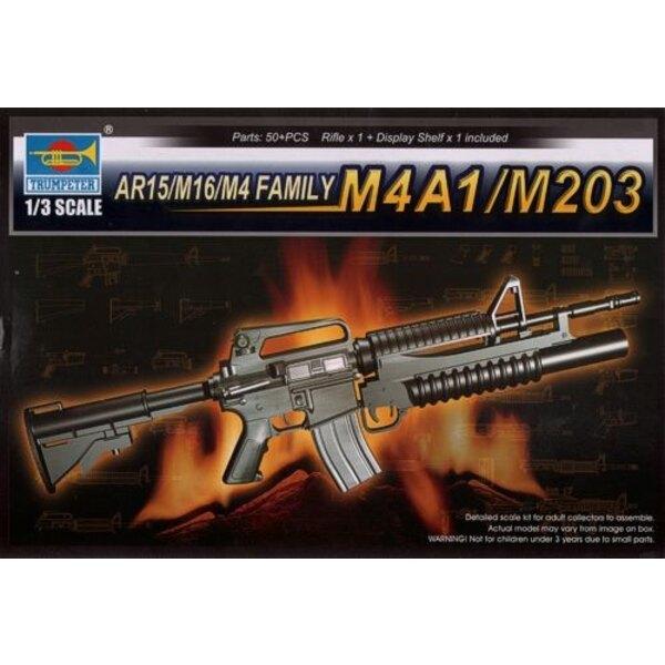 AR15/M16/M4 Family - M4A1/M203