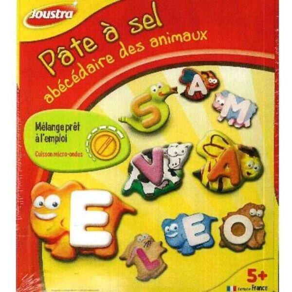Salt dough Alphabet Animals