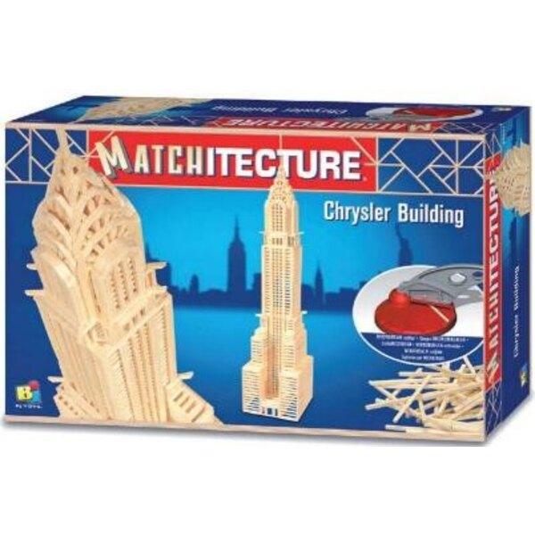 Matches model kit model kit Chrysler Building