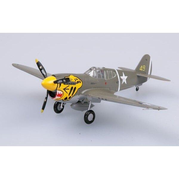 P-40E Warhawk 11FS-343FG Aleoutian Tiger 1942