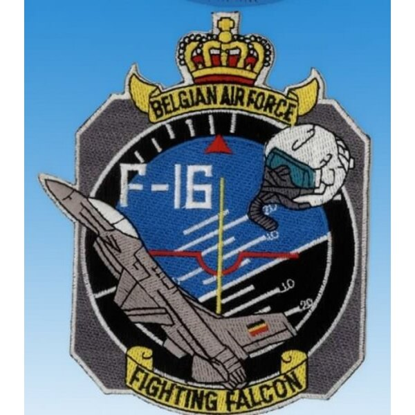 Patch F-16 Fighting Falcon Belgian Air Force