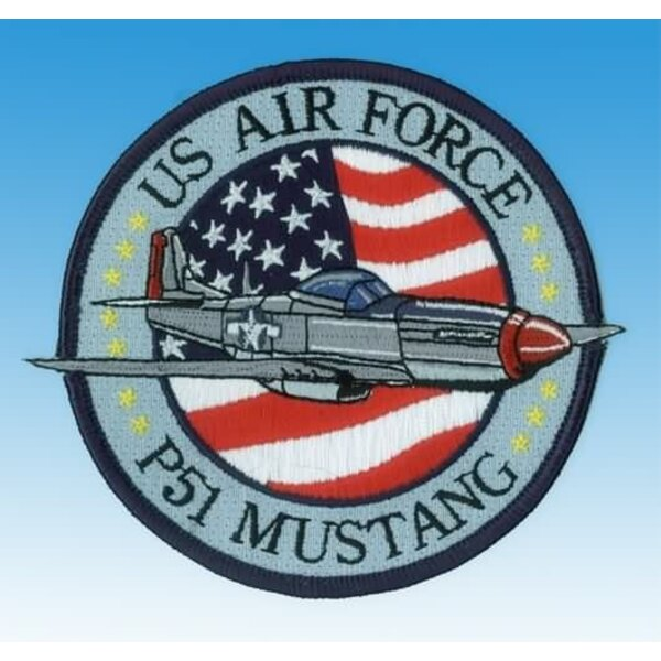 Patch P-51 Mustang