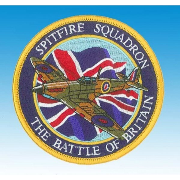 Patch Spitfire Heroes of the Sky's 'Union Jack""