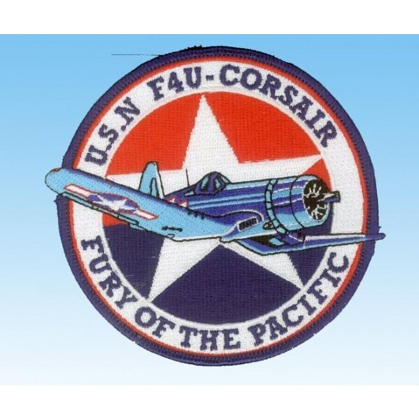 """Patch F-4U Corsair USN """"Fury of the Pacific"""""""