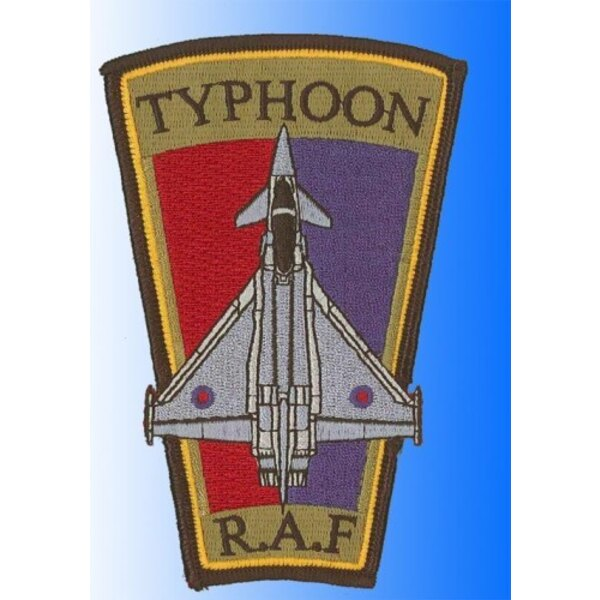 Patch Eurofighter Typhoon R.A.F