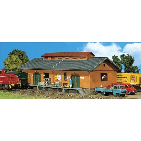 Goods shed