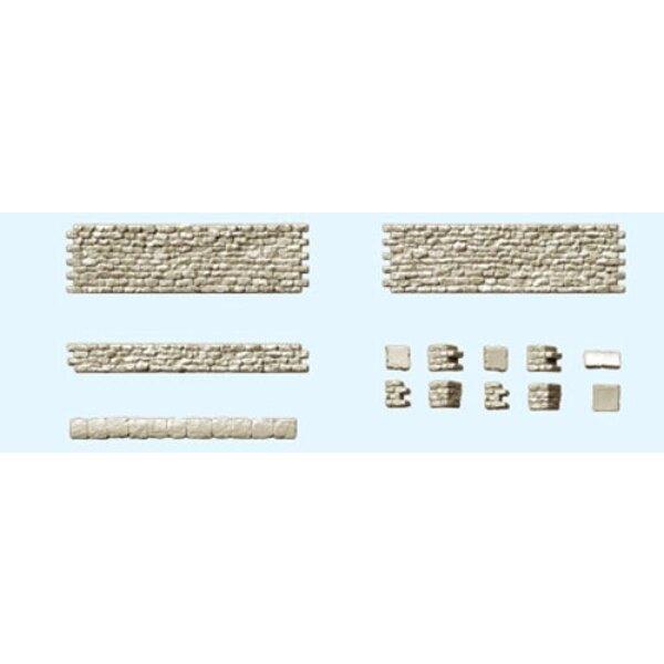 walls and stone walls