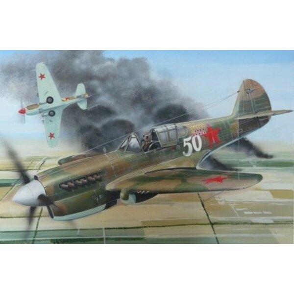 Curtiss P-40E Warhawk (USAAC, Soviet AF, RNZAF,
