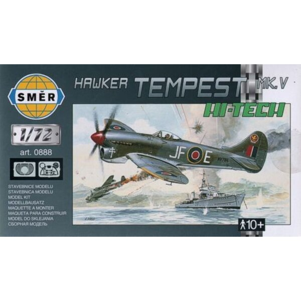 Hawker Tempest Mk.V with etched