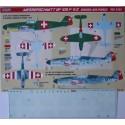 decals messerschmitt bf 109f-4/z (swiss air force)