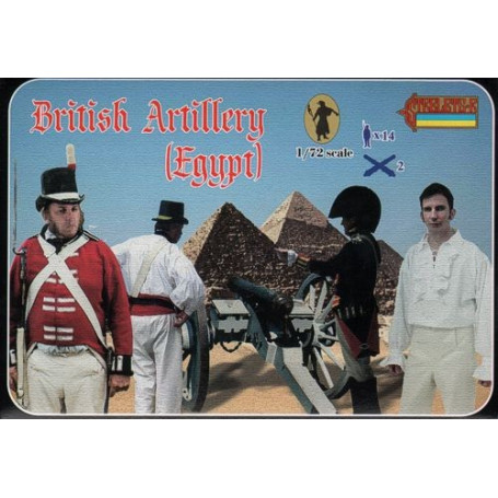 British Artillery (Egypt) Napoleonic (This is an old number but has never been released before)