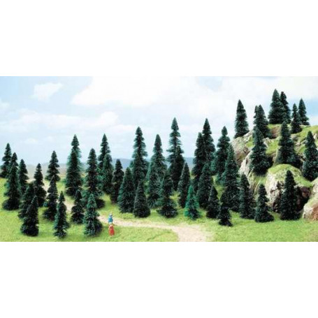 50 assorted trees