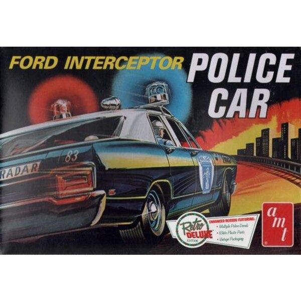 1970 Ford Galaxie Interceptor Police Car