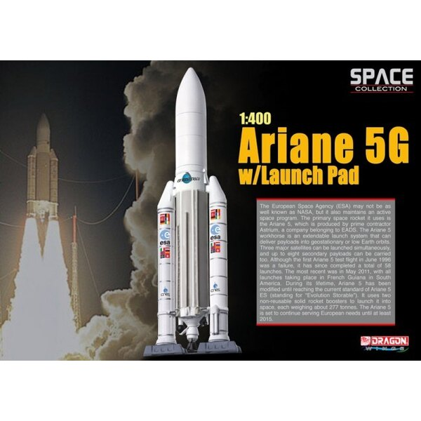 Ariane 5G w/Launch Pad