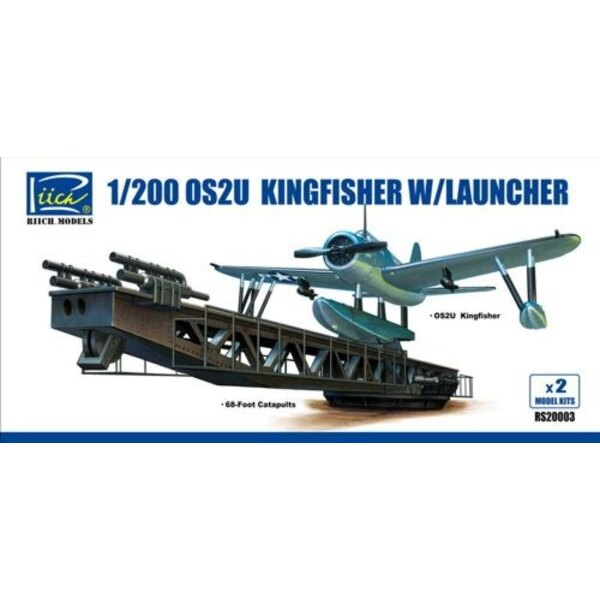 Vought OS2U-3 Kingfisher with Launcher (2 x kits in box)